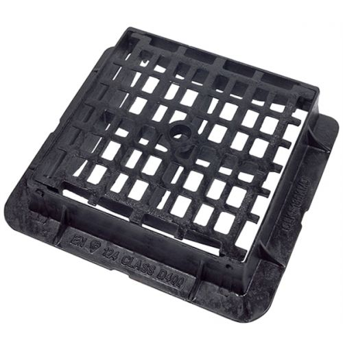 DUCT IRON GRATING D400 450 x 450 x 100mm MESHED CD185KMD (ANTI THEFT)