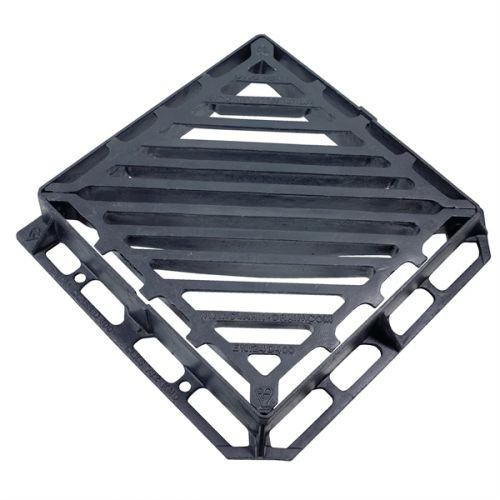 DUCT IRON GRATING D400 600 x 600 x 100mm DOUBLE TRIANGLE CD732KMD