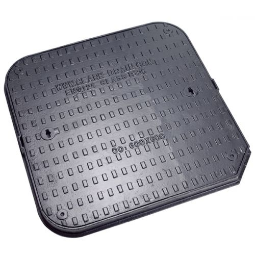 DUCT IRON MANHOLE COVER B125 600 x 600 x 40mm CD777KMB