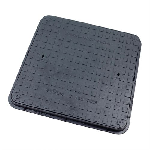 DUCT IRON MANHOLE COVER B125 675 x 675 x 40mm CD780KMB