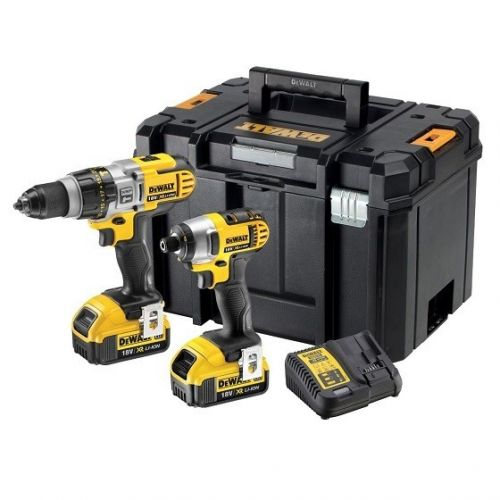 DEWALT DCK290M2T-GB 18V XR TWIN PACK WITH 2 x 4.0ah LI-ION BATTERIES