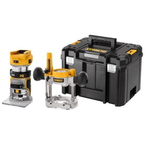 DEWALT DCW604NT-XJ 18v BODY ONLY BRUSHLESS 1/4 INCH ROUTER NO BATTERY OR CHARGER