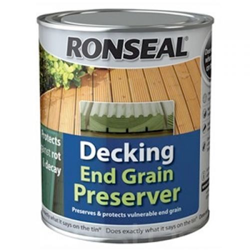 RONSEAL DECKING END GRAIN PROTECTOR 750ml 37334