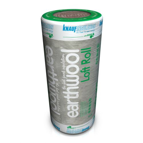 KNAUF EARTHWOOL LOFT INSULATION 200mm x 3.88m2 LOFT ROLL 44 SHORT