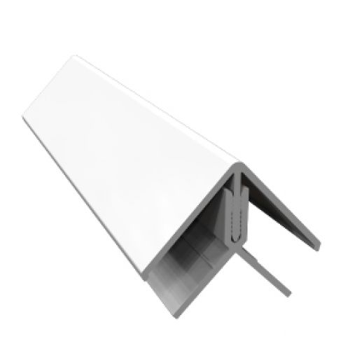Freefoam FC3043 2 Part External Edge Trim White