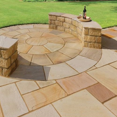 PAVESTONE NATURAL STONE 20.70m2 PACK CALIBRATED 01111001 FOSSIL