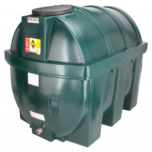 DESO H1800BT 1800l HORIZONTAL BUNDED OIL TANK
