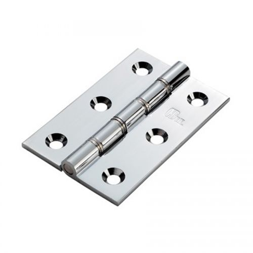 IDSW100CPBP 100 x 66mm POLISHED CHROME BUTT HINGE PAIR