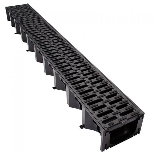ACO HEXDRAIN CHANNEL C/W PLASTIC GRATING 19310