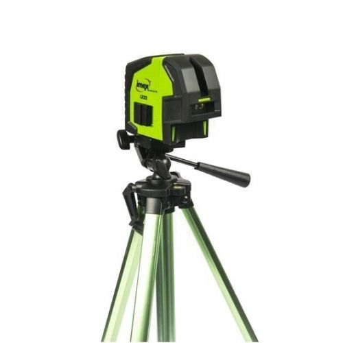 IMEX 012-LX22S CROSS LINE RED BEAM LASER KIT WITH TRIPOD AND CARRY CASE