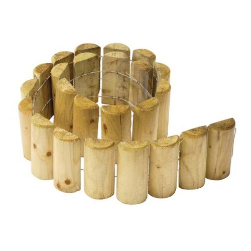 "DENBIGH TIMBER LOG ROLL 150mm / 6"" x 1.83m LOG6"""