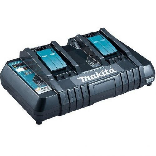 MAKITA DC18RD 18v LXT LI-ION TWIN BATTERY CHARGER 240v