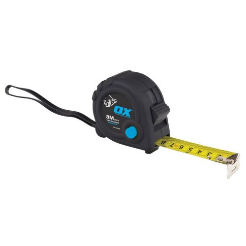 OX TRADE 8m TAPE MEASURE OX-T020608