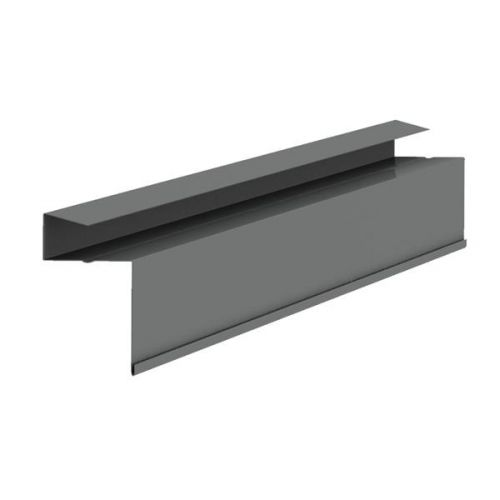 KYTUN C02NPBL BLACK 25mm CONTINUOUS SLATE DRY VERGE 3m (SLATE THICKNESS 4-8mm)