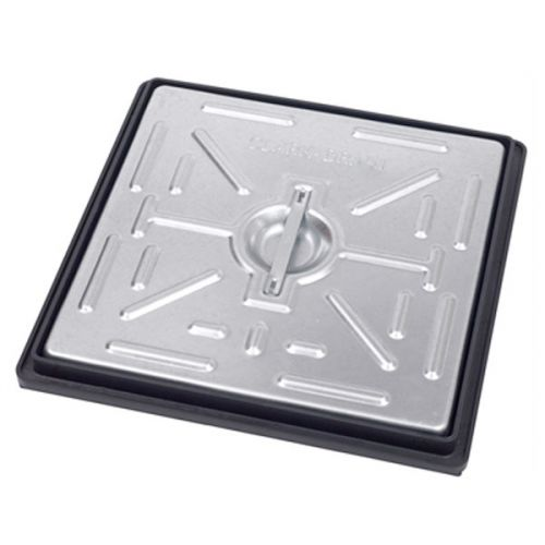 GALV MANHOLE COVER PEDESTRIAN 300 x 300mm PC2BG