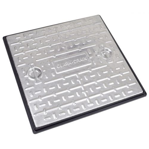 GALV MANHOLE COVER 600 x 600mm 10 TONNE PC7CG