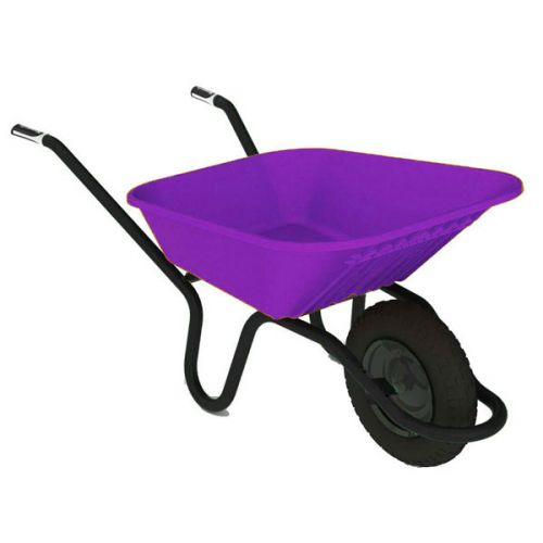 CHILLINGTON 90l POLY WHEELBARROW 5000 LILAC 730002120