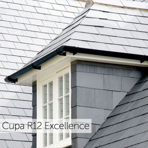 500 x 250mm CUPA R12 EXCELLENCE BLUE GREY 4-6mm SPANISH SLATE (100 YEAR GUARANTEE)