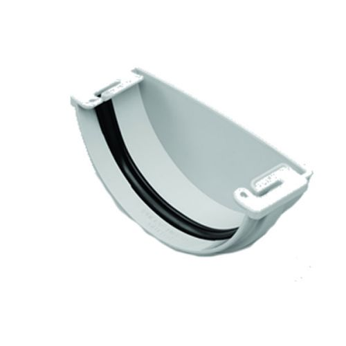 MARLEY CLIPMASTER REC1 GUTTER STOP END EXT 112mm GREY