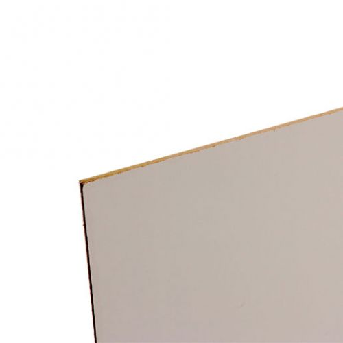 WHITE FACED HARDBOARD 8 x 4' x 3.2mm